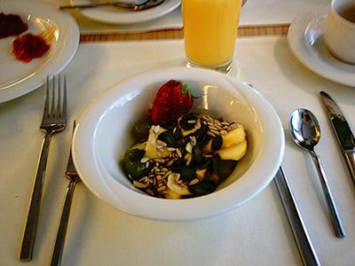 Sonntagsbrunch: Fruchtsalat