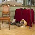 Wortlaut : Märchenstuhl im Textilmuseum