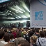 Die MTV-Bühne beim Zürich Openair